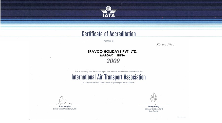 THPL Authorization Certificate