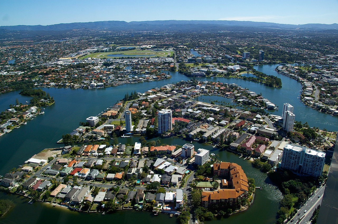 Gold Coast-Canals and waterways
