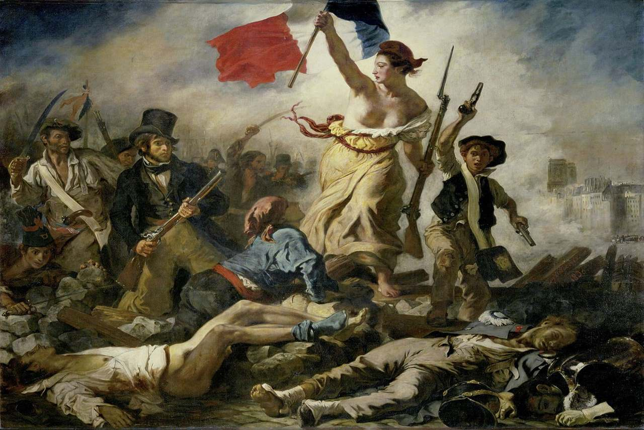 Liberty Leading the People-The Louvre Museum