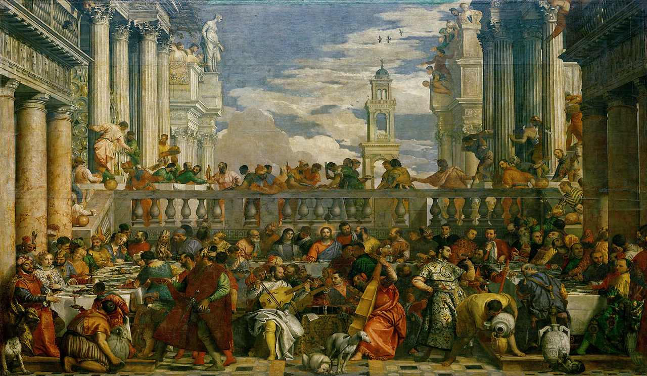 The Wedding Feast at Cana-The Louvre Museum