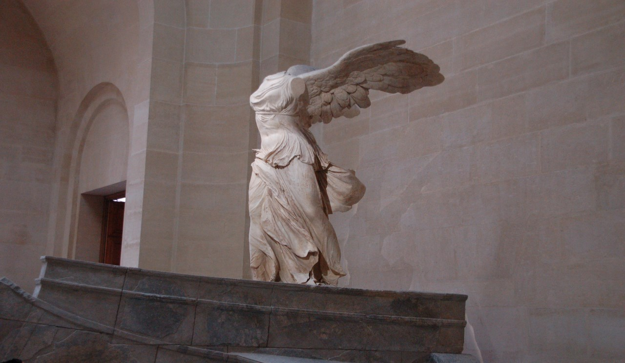 Winged Victory-The Louvre Museum