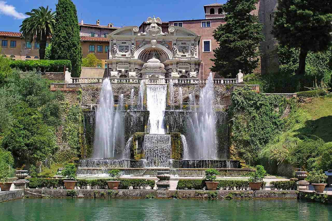 Fontana di Tivoli, Tivoli-Amazing fountains