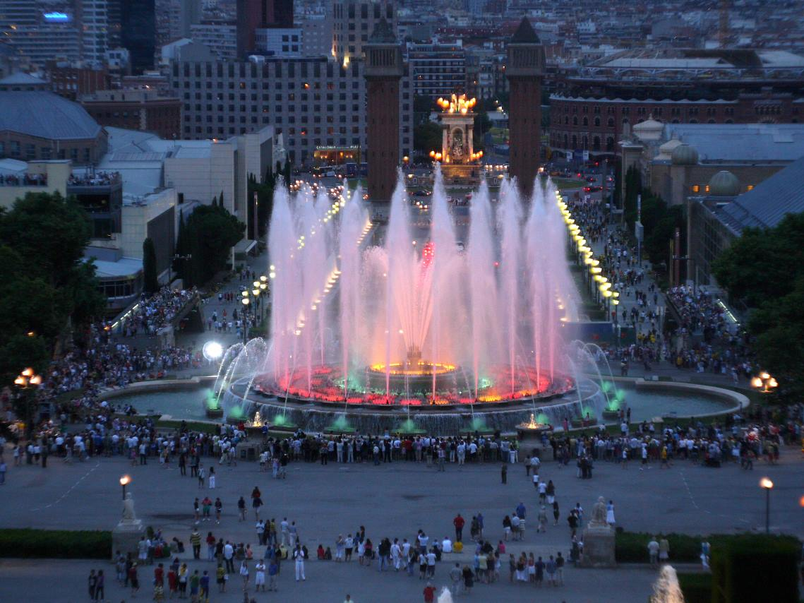 Magic Fountain of Montjuic, Barcelona-Amazing fountains