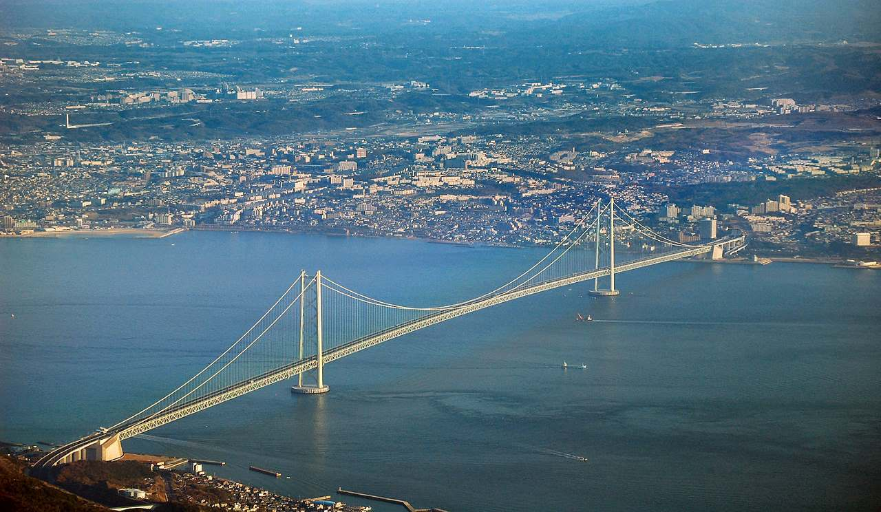 Record Breaking Bridge_Akashi Bridge