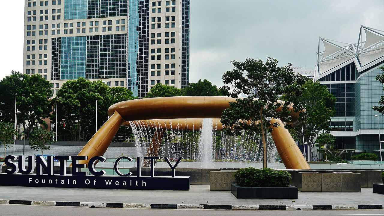 The Fountain of Wealth, Singapore- Amazing fountains