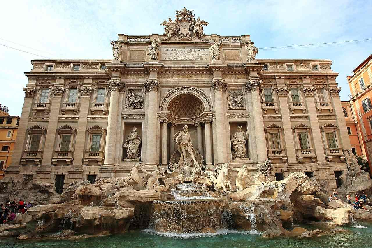 Trevi Fountain, Rome-Amazing fountains