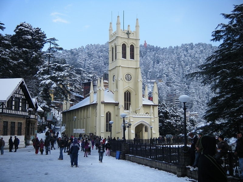 Honeymoon Destinations in India - Shimla