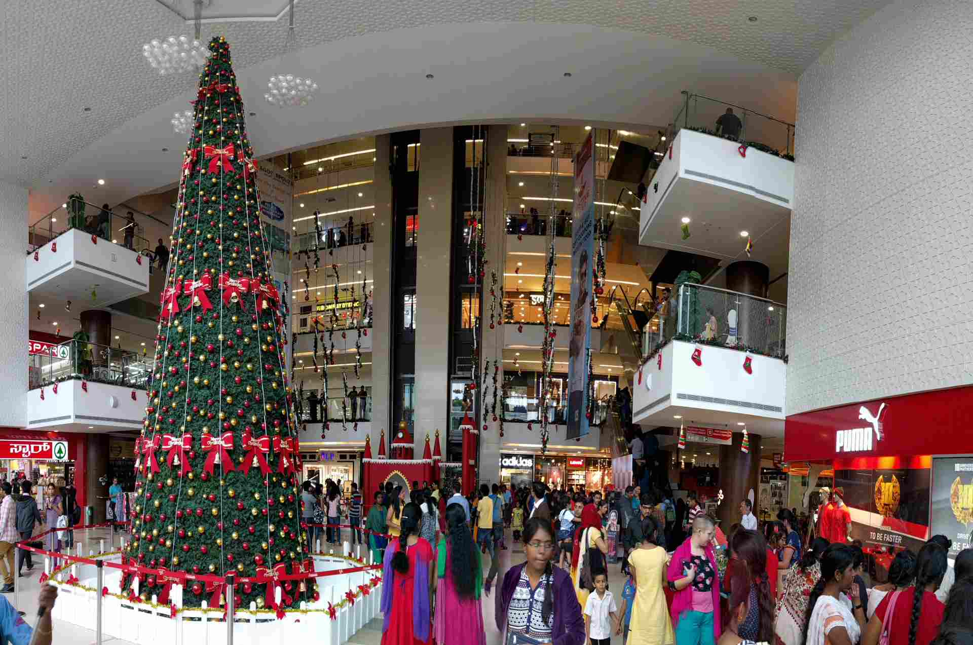 Place to visit in India for Christmas - Bangalore