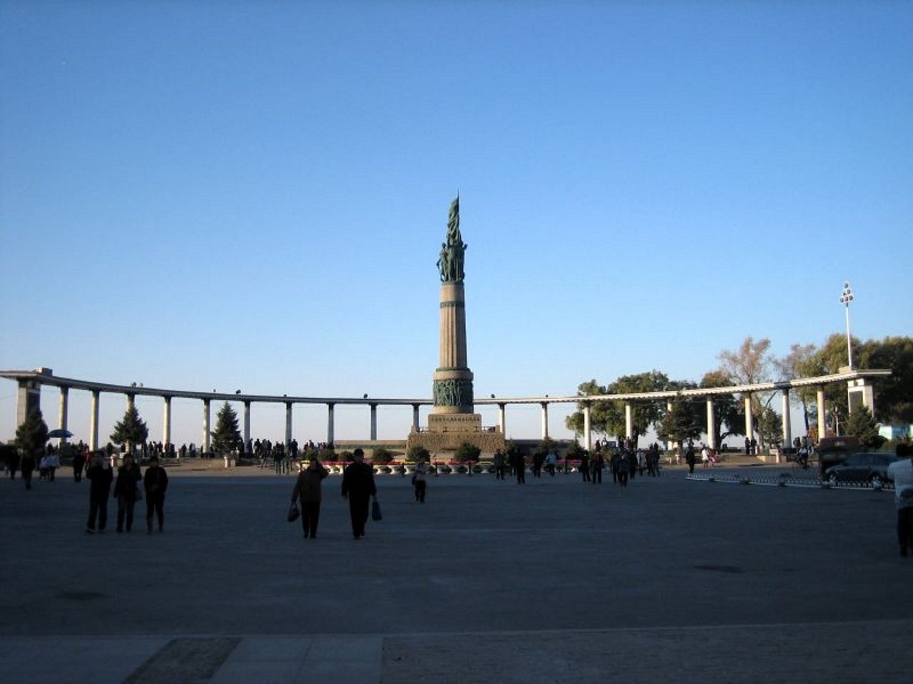 Harbin-Flood Control Monument
