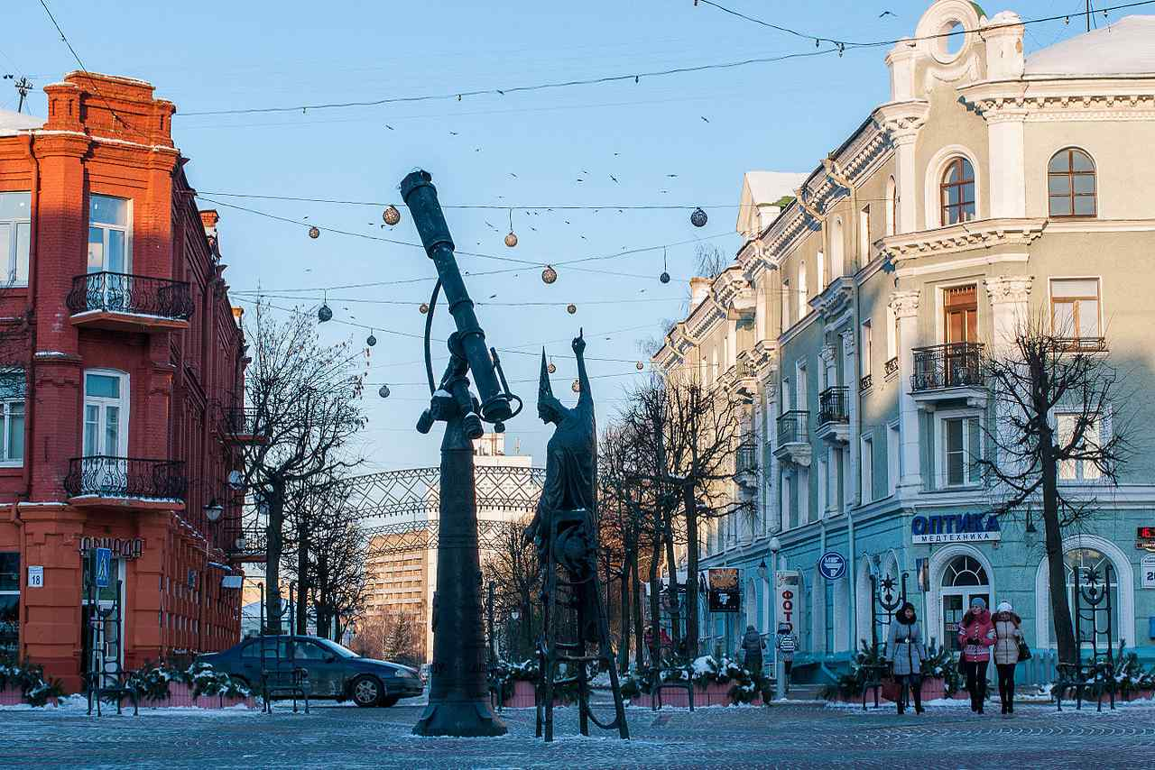Belarus-Top tourist destination to visit in 2019-Astrologer Statue