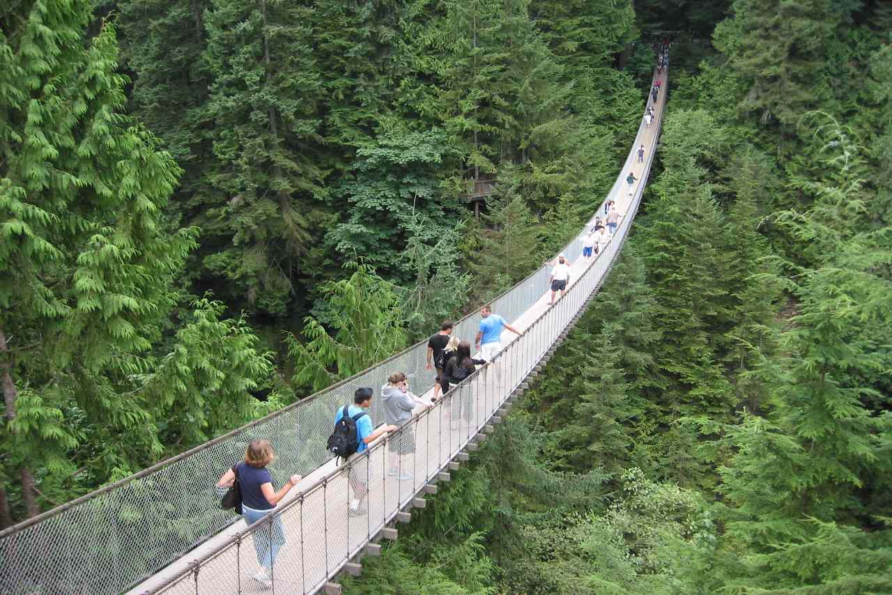 Canada-Capilano Suspension Bridge
