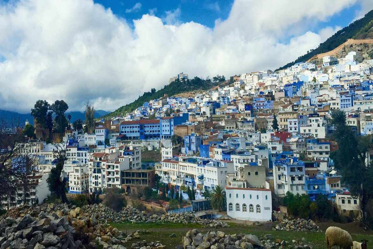 12 must see places in Morocco-Chefchaouen