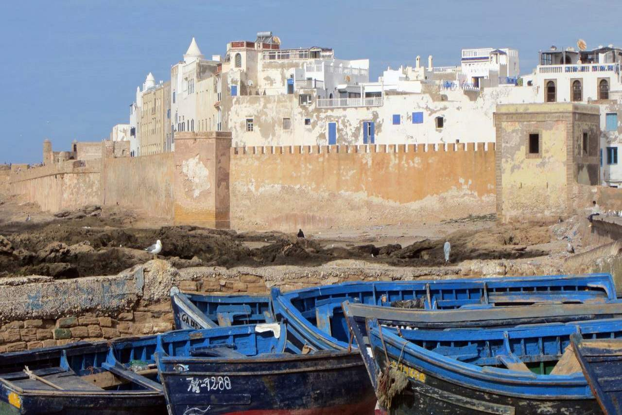 12 must see places in Morocco-Essaouira
